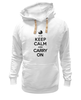 "Толстовка Wearcraft Premium унисекс ""Keep calm & Carry on"" - 8 марта, baby, маме, мама, keep calm"