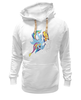 "Толстовка Wearcraft Premium унисекс ""Winter mood"" - игра, cool, winter, зима, снег, rainbow dash, mlp, my little pony, friendship is magic, awesome"