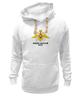"""Толстовка Wearcraft Premium унисекс """"Военно-Морской Флот"""" - вмф, флот, военно-морской флот, день вмф, морфлот"""