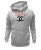 "Толстовка Wearcraft Premium унисекс ""Chanel"" - духи, бренд, fashion, коко шанель, brand, coco chanel, perfume, karl lagerfeld, карл лагерфельд, branding"