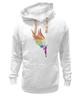 """Толстовка Wearcraft Premium унисекс """"Mozart L`opera Rock """" - арт, авторские майки, wings, рисунок, color"""