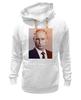 "Толстовка Wearcraft Premium унисекс ""Путин-Арт"" - россия, путин, президент, putin, кремль"