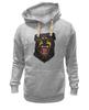 """Толстовка Wearcraft Premium унисекс """"Rottweiler"""" - dog, собака, клыки, rottweiler, ротвейлер"""