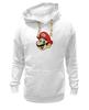 "Толстовка Wearcraft Premium унисекс ""Марио (Mario)"" - nintendo, mario, mario bros, братья марио"