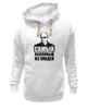 "Толстовка Wearcraft Premium унисекс ""Putin"" - russia, президент, путин, putin, россия"