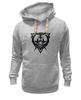 """Толстовка Wearcraft Premium унисекс """"Злой Медведь"""" - bear, медведь"""