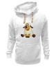 """Толстовка Wearcraft Premium унисекс """"Good Luck"""" - смешные, новый год, овца, sheep, 2015, овечка"""