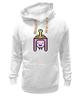 """Толстовка Wearcraft Premium унисекс """"Принцесса Бубльгум """" - adventure time, время приключений, бубльгум, принцесса бубльгум, princess bubblegum"""