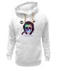 "Толстовка Wearcraft Premium унисекс ""Череп Пушкин"" - skull, череп, пушкин, стихи, александр пушкин"