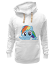 "Толстовка Wearcraft Premium унисекс ""Rainbow Dash"" - pony, mlp, rainbow"