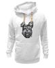 """Толстовка Wearcraft Premium унисекс """"Суровый пес"""" - арт, dog, пес, собака, angry, йоркширский терьер, yorkshire terrier"""