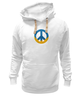 "Толстовка Wearcraft Premium унисекс ""Ukraine PEACE"" - мир, peace, yellow, blue, ukraine, украина, пацифизм"
