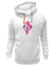 "Толстовка Wearcraft Premium унисекс ""My Little Pony - Пинки Пай (Pinkie Pie)"" - pony, mlp, my little pony, пони, pinkie pie, пинки пай"