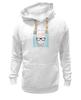 """Толстовка Wearcraft Premium унисекс """"Hipsta please"""" - очки, модные, хипстер, hipster, модный, хипстота, please"""