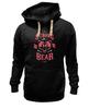 """Толстовка Wearcraft Premium унисекс """"Медведь"""" - арт, bear, медведь, иллюстрация, оскал"""