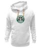 "Толстовка Wearcraft Premium унисекс ""Canterlot Coffee (Starbucks x Luna)"" - mlp, my little pony, princess luna, кофе, coffee"