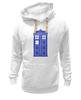 """Толстовка Wearcraft Premium унисекс """"Tardis (Тардис)"""" - сериал, doctor who, доктор кто, машина времени, телефонная будка"""