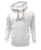 """Толстовка Wearcraft Premium унисекс """"Велосипед"""" - bicycle, велосипед"""