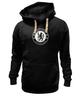 """Толстовка Wearcraft Premium унисекс """"Chelsea FC (white)"""" - футбол, челси, chelsea"""