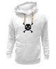 "Толстовка Wearcraft Premium унисекс ""Pixel Art Skull"" - skull, череп, pixel art, пиксельарт, pixelart, пиксельная графика"