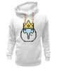 "Толстовка Wearcraft Premium унисекс ""Ice King"" - время приключений, ice king, finn & jake, adventure time"