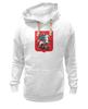 """Толстовка Wearcraft Premium унисекс """"Москвич"""" - москва, россия, москвич, флаг россии, герб москвы"""