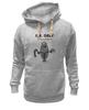 """Толстовка Wearcraft Premium унисекс """"Мистер Грей (50 оттенков серого)"""" - fifty shades of grey, mr grey, мистер грей, пятьдесят оттенков серого"""