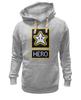"""Толстовка Wearcraft Premium унисекс """"Звезда из Марио"""" - star, hero, марио, mario bros"""