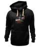 """Толстовка Wearcraft Premium унисекс """"Ночной город"""" - авто, night, ночь, гонки, мото, racing, скорость, speed"""