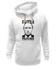 """Толстовка Wearcraft Premium унисекс """"Путин вежливый человек"""" - русский, россия, путин, президент, putin, вежливый, политик"""