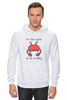"""Толстовка Wearcraft Premium унисекс """"Я слишком милый, чтобы быть раздраженным"""" - милый, краб, crab, клешня"""