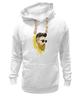 "Толстовка Wearcraft Premium унисекс ""Банановый бородач"" - хипстер, борода, banana, beard, hipster, банан"