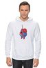 "Толстовка Wearcraft Premium унисекс ""Fat Spiderman"" - spider-man, человек-паук, обжорство, спайдермен"