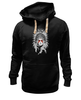 "Толстовка Wearcraft Premium унисекс ""покахонтас"" - pocahontas, native american"