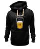 "Толстовка Wearcraft Premium унисекс ""Загрузка Пива на 69%"" - пиво, стакан, loading, beer, загрузка"