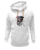 "Толстовка Wearcraft Premium унисекс ""Америка"" - skull, usa, америка, череп"