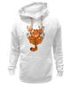 """Толстовка Wearcraft Premium унисекс """"Гарфилд"""" - кот, комикс, cat, гарфилд, garfield"""