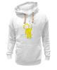 """Толстовка Wearcraft Premium унисекс """"Зимняя прогулка"""" - зима, настроение, прогулка, рождество, малыш, ребенку, котики, снежинка, новыйгод, сани"""