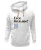 """Толстовка Wearcraft Premium унисекс """"Free больше"""" - толстовка, коммерсант, free, free больше"""
