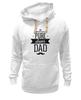 """Толстовка Wearcraft Premium унисекс """"Супер Папа"""" - папа, отец, dad, папочка, батя"""