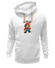 "Толстовка Wearcraft Premium унисекс ""I'M FROM THE OLDSCHOOL"" - олдскул, nintendo, oldschool, mario, марио"
