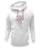 """Толстовка Wearcraft Premium унисекс """"Ловец снов 2"""" - символ, ловец снов, перья, dreamcatcher, ловец"""