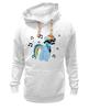 """Толстовка Wearcraft Premium унисекс """"Rainbow Dash Meloman"""" - pony, rainbow dash, mlp, mustaches, notes"""