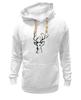 """Толстовка Wearcraft Premium унисекс """"dear deer"""" - графика, олень, deer, tseart"""