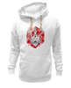 "Толстовка Wearcraft Premium унисекс ""Джекалоп"" - арт, rabbit, horns, рогатый заяц, jackalope, folklore, мистификация"