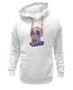 """Толстовка Wearcraft Premium унисекс """"Zombie art"""" - skull, череп, zombie, зомби, арт дизайн"""