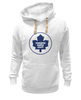 "Толстовка Wearcraft Premium унисекс ""Торонто Мэйпл Лифс "" - хоккей, nhl, нхл, toronto maple leafs, торонто мэйпл лифс"