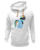 "Толстовка Wearcraft Premium унисекс ""20 % cooler"" - pony, rainbow dash, mlp, пони, ponies"