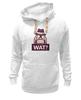 "Толстовка Wearcraft Premium унисекс ""WAT?              "" - вопрос, шляпа"