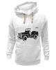 "Толстовка Wearcraft Premium унисекс ""Ретро стиль"" - арт, ретро, машина"